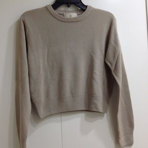 Express Tricot Beige Sweater